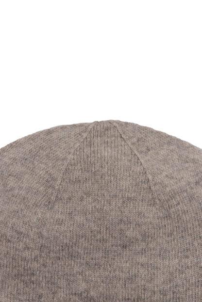 Beige Cashmere Baby Hat Detail