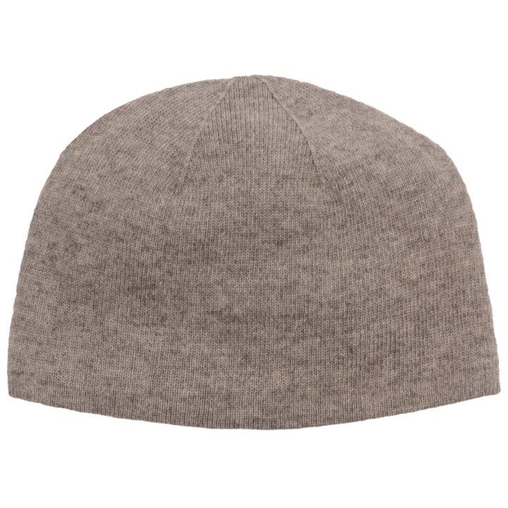 Beige Cashmere Baby Hat