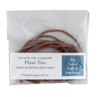 Natural Suede Plant Ties