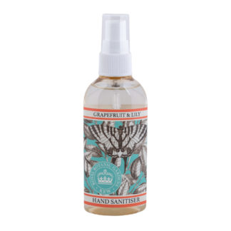 Kew Gardens Botanical Hand Sanitier -Grapefruit and Lily