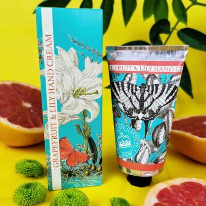 Kew Gardens Hand Cream- Grapefruit and Lily