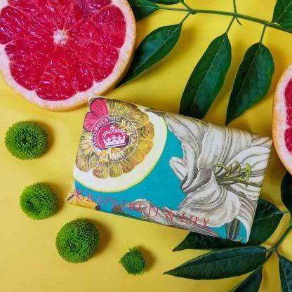 Kew Gardens Botanical Soap - Grapefruit and Lily