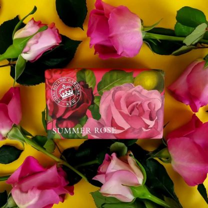 Kew Gardens Botanical Soap - Summer Rose