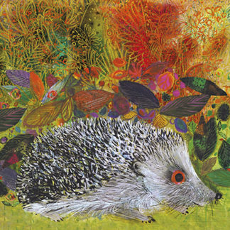 Hedgehog in the Garden Greeting Card by Brian Wildsmith