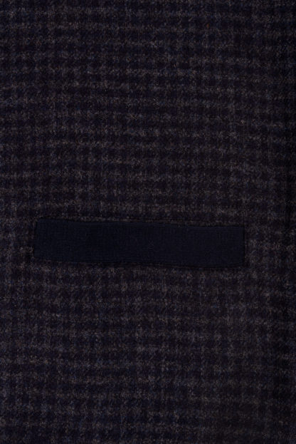 The Darney Mans Knitted Waistcoat Detail