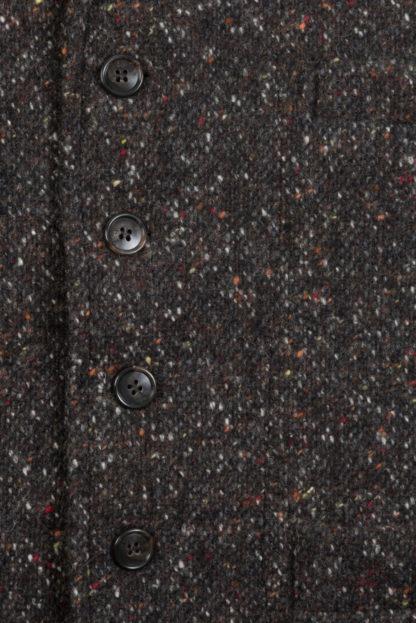 Donegal Tweed Gillet Detail