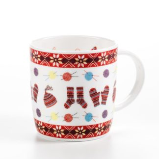 Fair Isle China Mug