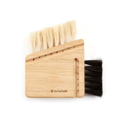 Wood Compact Computer Brush 2