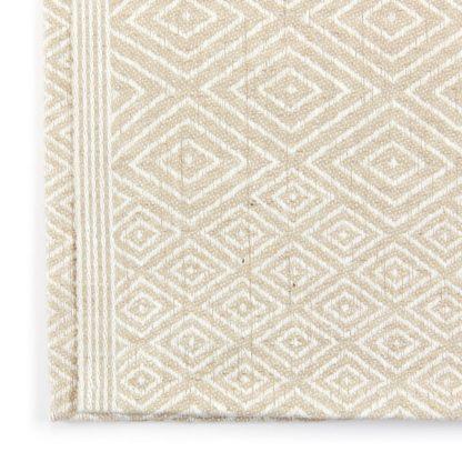 Linen Cloth Tea Towel Fawn Detail