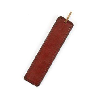 Large Leather Key Ring