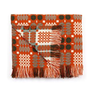 New Orange Red Welsh Tapestry Folded Resize 2000 x 2000