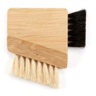 Wood Compact Computer Brush