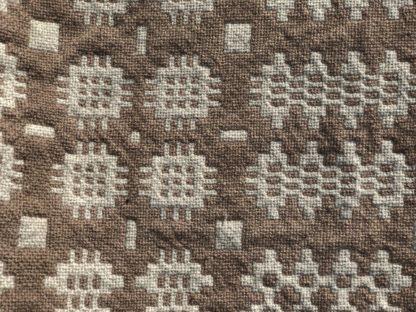 Old Welsh Blanket Antique Tapestry AT136 Detail 2