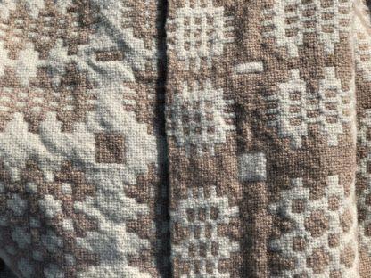 Old Welsh Blanket Antique Tapestry AT136 Detail 3