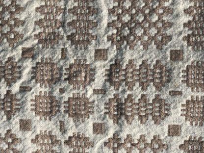 Old Welsh Blanket Antique Tapestry AT136 Detail