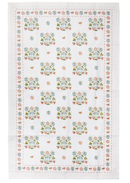 Summer Meadow Cotton Tea Towel