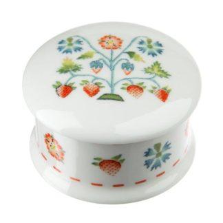 Summer Meadow China Trinket Box
