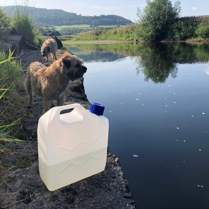 Water Testing on River Wye